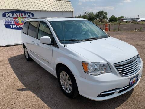 2015 Chrysler Town and Country for sale at Praylea's Auto Sales in Peyton CO