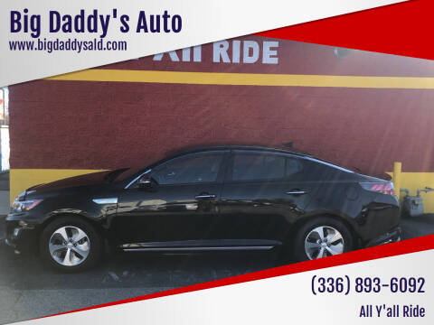 2015 Kia Optima Hybrid for sale at Big Daddy's Auto in Winston-Salem NC
