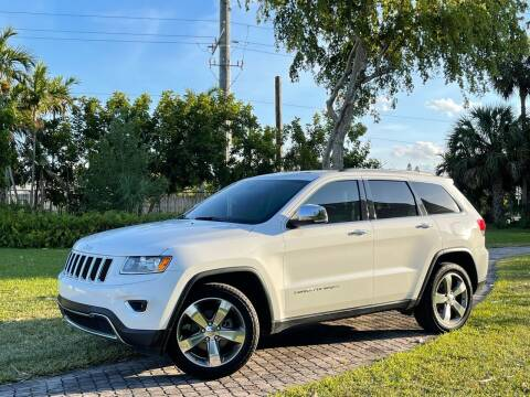 2014 Jeep Grand Cherokee for sale at Citywide Auto Group LLC in Pompano Beach FL