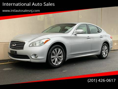 2012 Infiniti M37 for sale at International Auto Sales in Hasbrouck Heights NJ