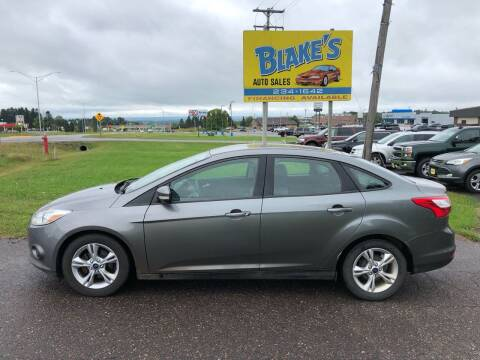 2014 Ford Focus for sale at Blake's Auto Sales in Rice Lake WI