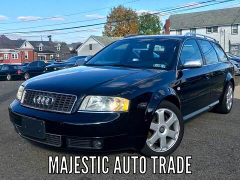 2002 Audi S6 for sale at Majestic Auto Trade in Easton PA