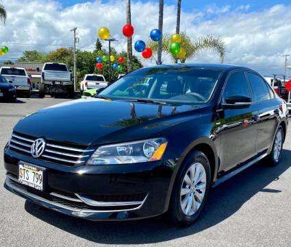 2015 Volkswagen Passat for sale at PONO'S USED CARS in Hilo HI