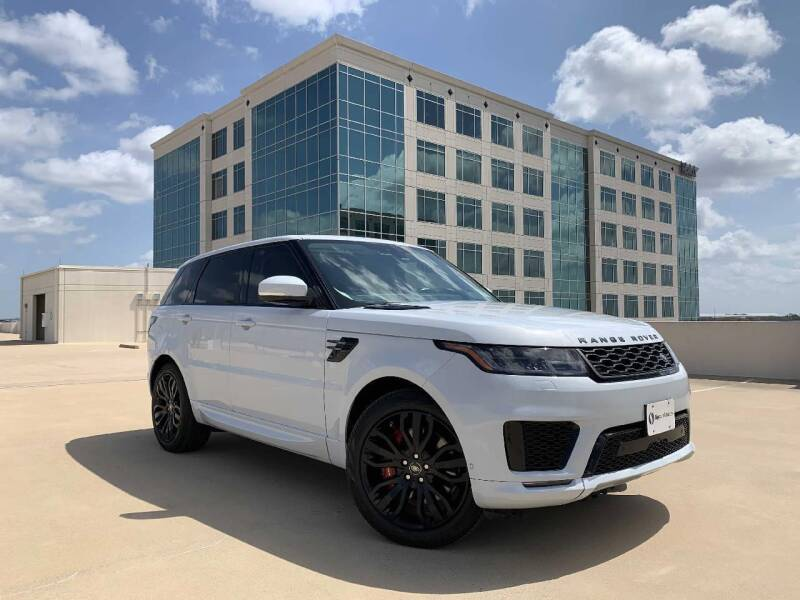 2018 Land Rover Range Rover Sport for sale at SIGNATURE Sales & Consignment in Austin TX