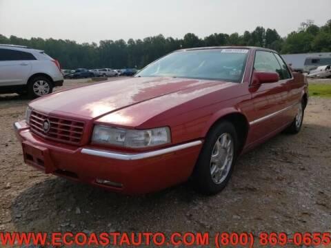 1997 Cadillac Eldorado for sale at East Coast Auto Source Inc. in Bedford VA