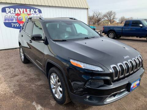 2015 Jeep Cherokee for sale at Praylea's Auto Sales in Peyton CO