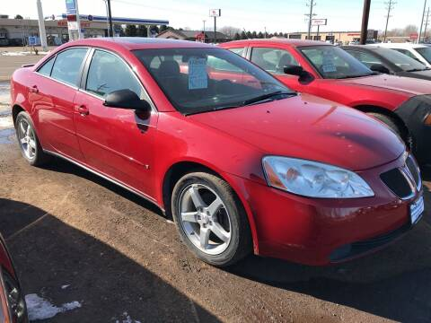2007 Pontiac G6 for sale at BARNES AUTO SALES in Mandan ND
