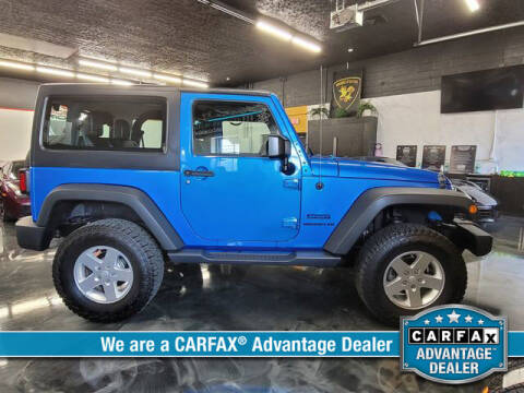 2016 Jeep Wrangler for sale at RoseLux Motors LLC in Schnecksville PA