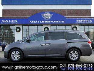2015 Honda Odyssey for sale at Highline Group Motorsports in Lowell MA