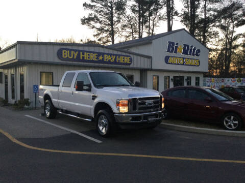 2010 Ford F-250 Super Duty for sale at Bi Rite Auto Sales in Seaford DE