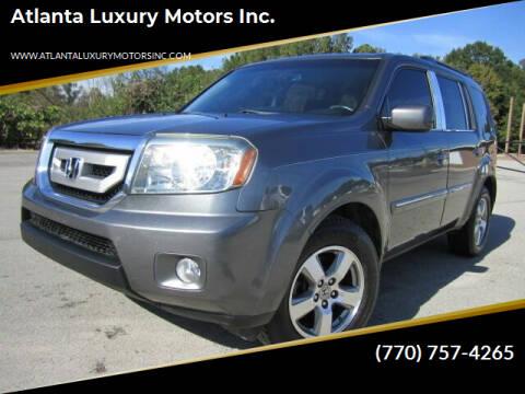 2011 Honda Pilot for sale at Atlanta Luxury Motors Inc. in Buford GA