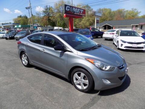 2013 Hyundai Elantra for sale at Comet Auto Sales in Manchester NH