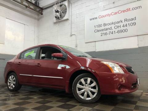 2010 Nissan Sentra for sale at County Car Credit in Cleveland OH