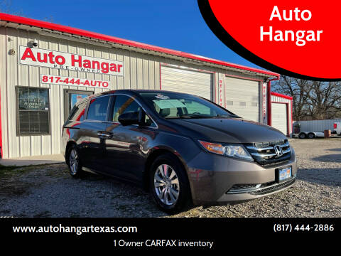 2016 Honda Odyssey for sale at Auto Hangar in Azle TX