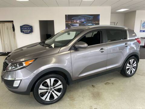 2012 Kia Sportage for sale at Used Car Outlet in Bloomington IL