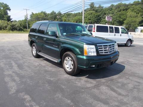 2002 Cadillac Escalade for sale at MATTESON MOTORS in Raynham MA