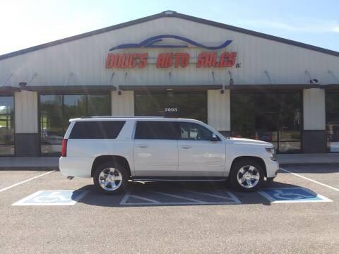 2015 Chevrolet Suburban for sale at DOUG'S AUTO SALES INC in Pleasant View TN