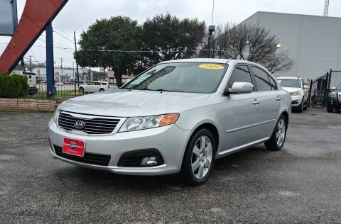 2009 Kia Optima for sale at A MOTORS SALES AND FINANCE in San Antonio TX