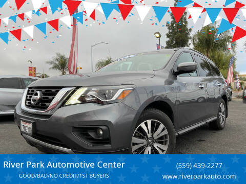 2017 Nissan Pathfinder for sale at River Park Automotive Center in Fresno CA