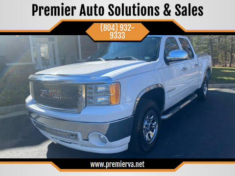 2008 GMC Sierra 1500 for sale at Premier Auto Solutions & Sales in Quinton VA