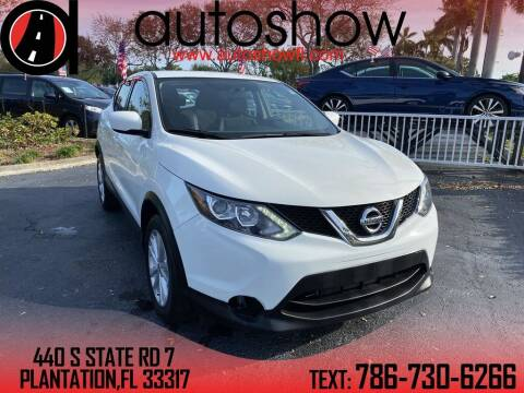 2017 Nissan Rogue Sport for sale at AUTOSHOW SALES & SERVICE in Plantation FL