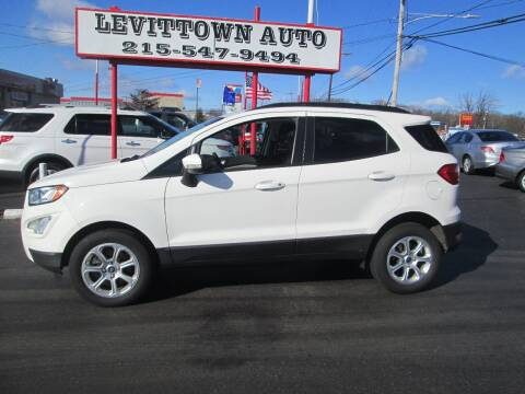 2018 Ford EcoSport for sale at Levittown Auto in Levittown PA