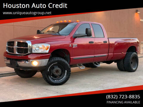 2007 Dodge Ram Pickup 3500 for sale at Houston Auto Credit in Houston TX