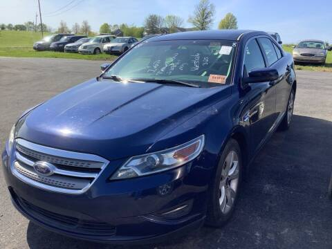 2012 Ford Taurus for sale at Auto Martt, LLC in Harrodsburg KY