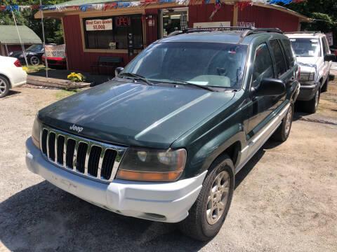 2000 Jeep Grand Cherokee for sale at Mountain Motors in Newnan GA