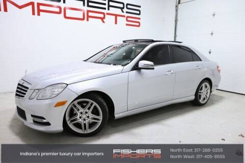 2013 Mercedes-Benz E-Class for sale at Fishers Imports in Fishers IN