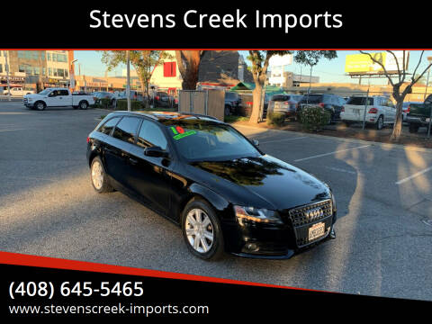 2010 Audi A4 for sale at Stevens Creek Imports in San Jose CA