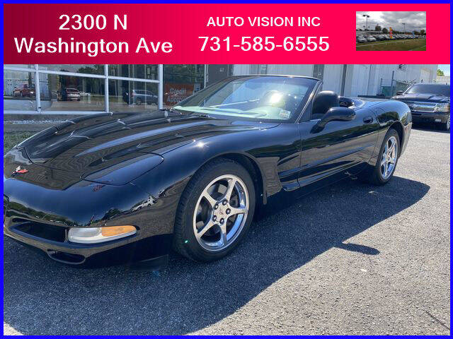 2004 Chevrolet Corvette for sale at Auto Vision Inc. in Brownsville TN