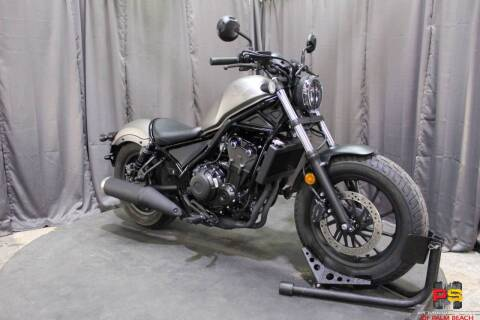 2020 Honda Rebel 500 ABS for sale at Powersports of Palm Beach in Hollywood FL