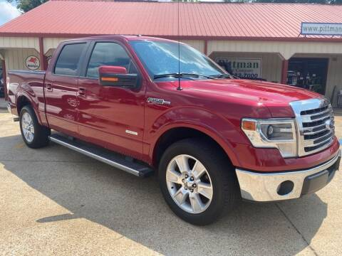 2013 Ford F-150 for sale at PITTMAN MOTOR CO in Lindale TX