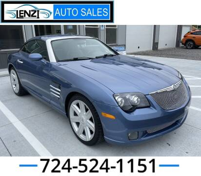 2005 Chrysler Crossfire for sale at LENZI AUTO SALES in Sarver PA