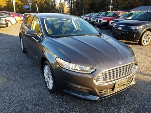 2016 Ford Fusion Hybrid for sale at Let's Go Auto in Florence SC