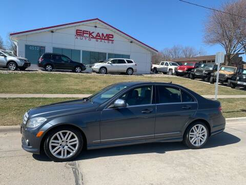 2009 Mercedes-Benz C-Class for sale at Efkamp Auto Sales LLC in Des Moines IA