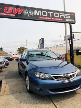 2011 Subaru Impreza for sale at GW MOTORS in Newark NJ