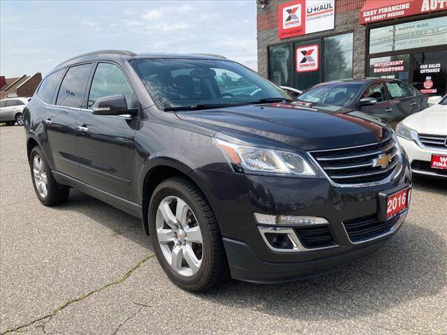 2016 Chevrolet Traverse for sale at AutoCredit SuperStore in Lowell MA