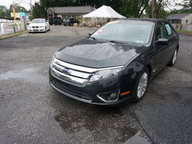 2010 Ford Fusion Hybrid for sale at Colonial Motors in Mine Hill NJ