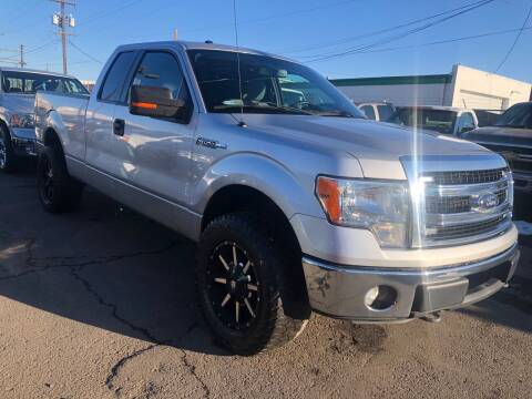 2014 Ford F-150 for sale at New Wave Auto Brokers & Sales in Denver CO