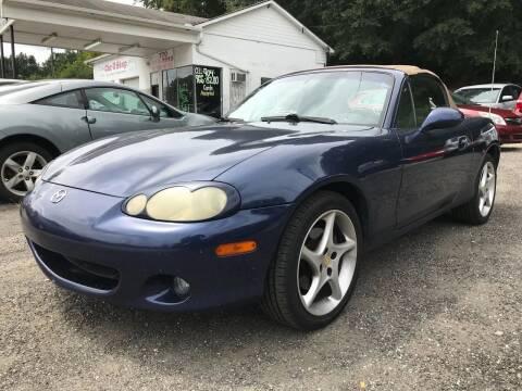 2003 Mazda MX-5 Miata for sale at ATLANTA AUTO WAY in Duluth GA