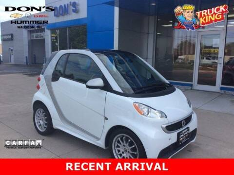 2013 Smart fortwo for sale at DON'S CHEVY, BUICK-GMC & CADILLAC in Wauseon OH