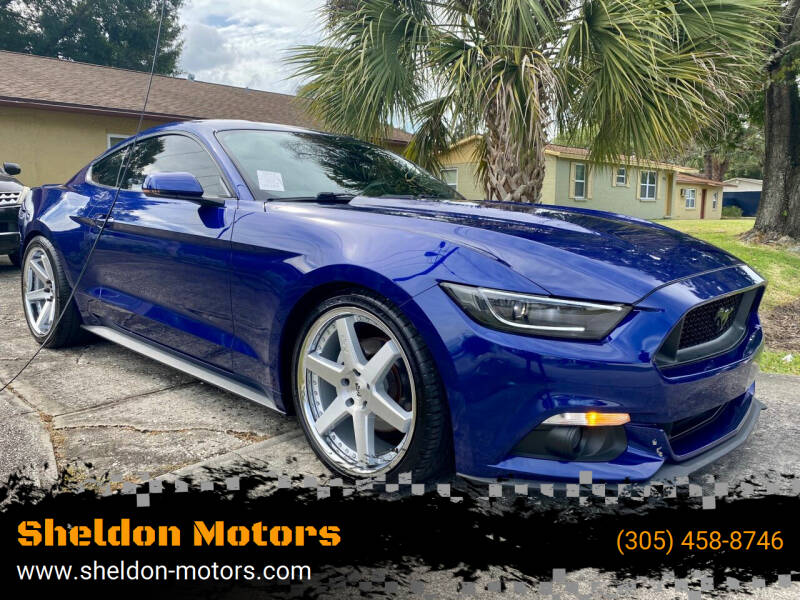 2015 Ford Mustang for sale at Sheldon Motors in Tampa FL