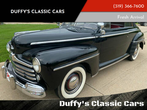 1947 Ford Super Deluxe for sale at Duffy's Classic Cars in Cedar Rapids IA