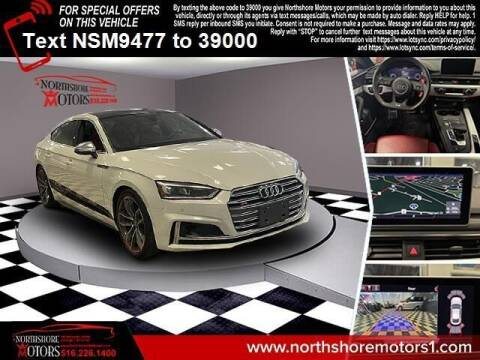2018 Audi S5 Sportback for sale at Sunrise Auto Outlet in Amityville NY
