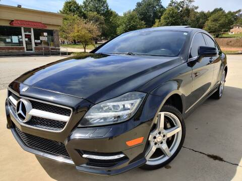 2014 Mercedes-Benz CLS for sale at Gwinnett Luxury Motors in Buford GA