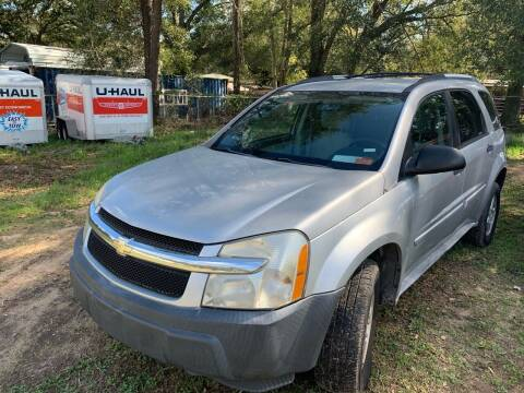 2005 Chevrolet Equinox for sale at Nash's Auto Sales Used Car Dealer in Milton FL