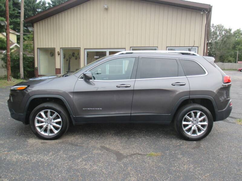 2014 Jeep Cherokee for sale at Home Street Auto Sales in Mishawaka IN