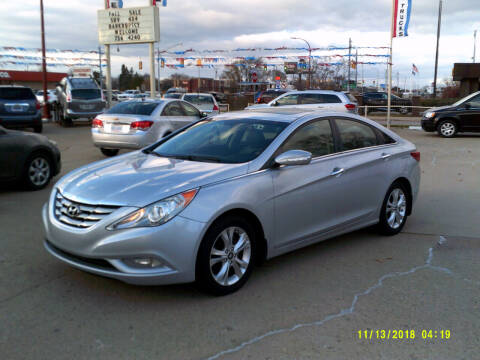 2011 Hyundai Sonata for sale at Fred Elias Auto Sales in Center Line MI